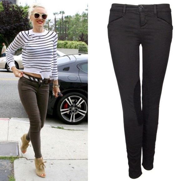J Brand Denim - J Brand Black Jodhpur Jeans Riding Pants
